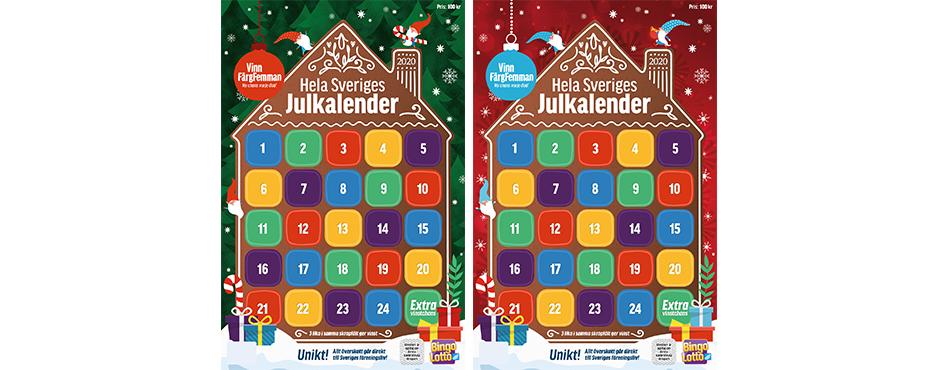Tjäna pengar till föreningen med BingoLottos julkalender | Folkspel -  Folkspel
